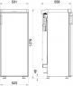 Абсорбционный (газовый) холодильник Dometic RGE 3000
