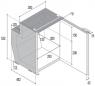 Холодильник Vitrifrigo C51i, встраиваемый компрессорный, 51 литр