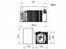 Встраиваемый холодильник Indel B UR 35