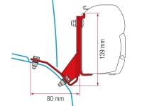 Крепёж для маркизы Fiamma серии F45s, модель Kit Fiat Ducato H2 Lift Roof, артикул 98655Z028