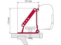 Крепёж на рейлинги для маркиз Fiamma серии F45s/F35pro/C, модель крепежа Kit Auto, артикул 98655-310