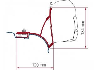купить Крепёж для маркизы Fiamma серии F45S, модель Kit VW T5/T6 Transporter Multivan, артикул 98655-647