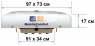 Кондиционер MobileComfort MC3012T, накрышный электрический моноблок