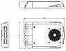 Кондиционер моноблок автомобильный EcoFlex4E AC unit 24V 4kW