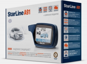 Сигнализация StarLine А91 Dialog