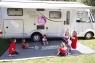 Маркиза настенная Fiamma F45S на караван, автодом, кемпер, минивэн