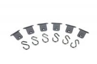 Крепёж - набор крючков для маркизы Fiamma, модель Kit Awning Hangers, артикул 98655-743