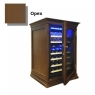 Винный шкаф Cold Vine C34-KBF2 (Wood)
