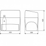 Термоэлектрический автохолодильник Dometic BordBar AS-25