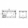 Компрессорный автохолодильник Dometic CoolFreeze CFX 100W