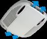 Кондиционер Telair Silent 5400H, охлаждение 1.7kW, обогрев 1.64kW, питание