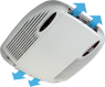 Кондиционер Telair Silent 8400H, охлаждение 2.46kW, обогрев 2.5kW, питание 220V